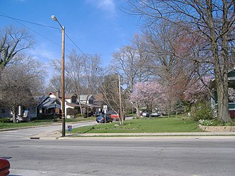 National Register of Historic Places listings in Floyd County, Indiana - Image: De Pauw Avenue Historic District