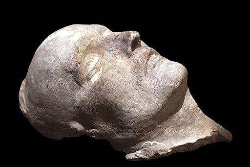 Death mask of Napoleon-IMG 1535-black