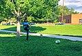 Deb Haaland kicking a soccer ball.jpg