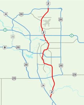 Deerfoot Trail - Wikipedia