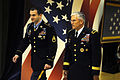 Defense.gov News Photo 101117-D-7203C-008 - Army Chief of Staff Gen. George W. Casey Jr. and Medal of Honor recipient Army Staff Sgt. Salvatore Giunta walk to the Pentagon Auditorium to.jpg