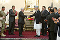 Defense.gov News Photo 110604-D-XH843-030 - President of Afghanistan Hamid Karzai presents Secretary of Defense Robert M. Gates with the Ghazi Wazir Mohammad Akbar Khan Medal Afghanistan s.jpg