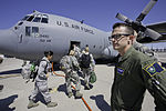 Defense.gov News Photo 120615-F-AB151-062 - U.S. Air Force Senior Airman Christian Cattell conducts a head count of airmen boarding a C-130H Hercules aircraft at Reno-Tahoe International.jpg