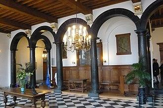 City Hall (Delft) - Image: Delft stadhuis vierschaar