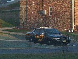 Delran Township, New Jersey - A Delran police car.