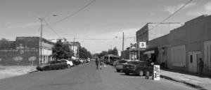 Clarksdale, Mississippi - Delta Avenue in Clarksdale