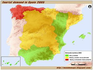 industria turistica en espana: