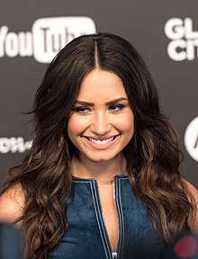 Demi Lovato (Red carpet) - Global Citizen Festival Hamburg 04.jpg