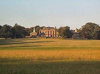 Denton, North Yorkshire - Denton Hall, once home of the Fairfax family