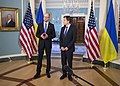 Deputy Secretary Blinken Meets with Ukrainian Prime Minister Yatsenyuk, at the Department of State (19672963541).jpg