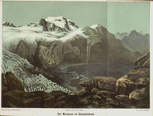 Der Weisssee im Stubachthale