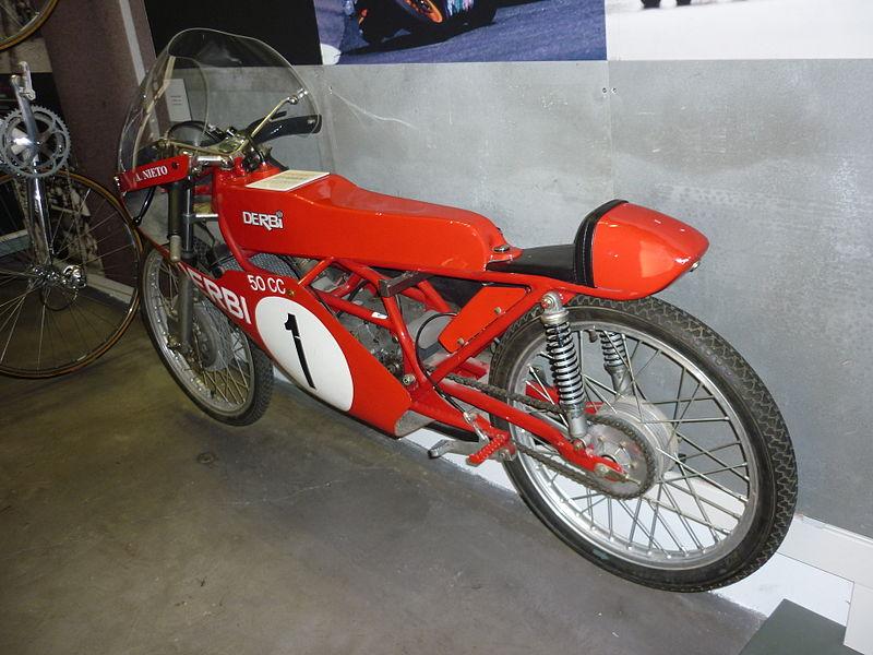 File:Derbi 50cc GP Angel Nieto 1969.JPG