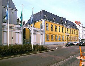 Philanthropinum - Palais Dietrich, in Dessau, site of the original Philanthropinum