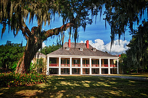 Destrehan, Louisiana - Destrehan Plantation est.1780-1790