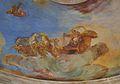 Detall dels frescos de la cúpula de l'escala, col·legi major Rector Peset de València.JPG