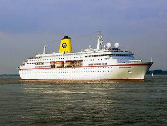 MS Deutschland - Deutschland sailing for Plantours Charter.