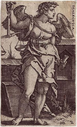 Beham, (Hans) Sebald (1500-1550): Dialectica (...