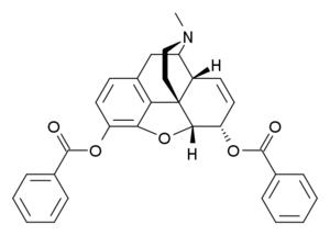 Dibenzoylmorphine - Image: Dibenzoylmorphine