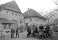 Die Wachtmannschaft des Grenzpostens in Beggingen - CH-BAR - 3240972.tif
