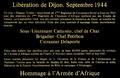 Dijon Plaque commémorative du char Duguay-Trouhin sur fond noir.png