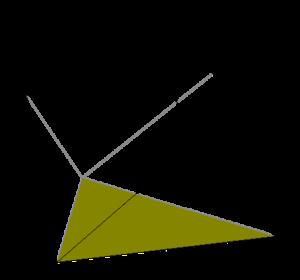 Diminished trapezohedron - Image: Diminished trigonal trapezohedron