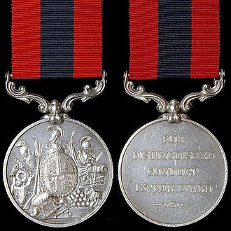 Distinguished Conduct Medal - Queen Victoria version