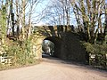Disused railway bridge at Bickleigh - geograph.org.uk - 1625511.jpg
