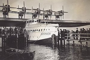 Dornier Do X - Do X on Lake Müggelsee, Berlin, May 1932