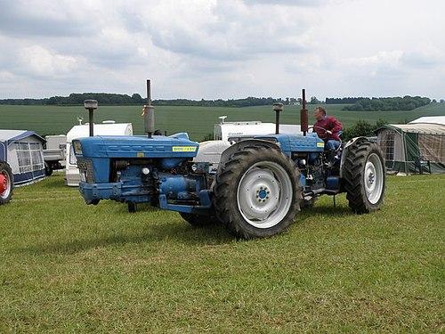 Fordson traktor dating