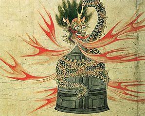 Dojo-ji legend scrolls