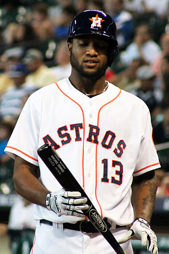 Domingo Santana - Santana with the Houston Astros in 2014