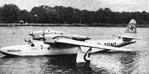 """Dornier Do 26 - The first Do 26 """"Seeadler"""" in 1938"""