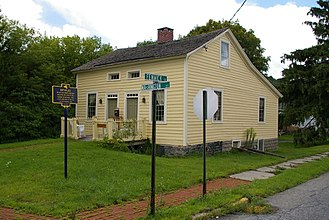 Abner Doubleday - Birthplace in Ballston Spa