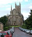 Downpatrick Cathedral from English Street - geograph.org.uk - 1524696.jpg