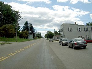 West Pittsburg, Pennsylvania - Main Street in downtown West Pittsburg