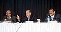 Dr. Jitendra Singh addressing an interactive session on the 'Challenges and Opportunities in North Eastern Region'.jpg