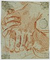 Drawing, Study of the Closed Hands of a Woman, early 18th century (CH 18120691).jpg