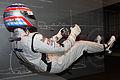 Driving position figure (Takuma Sato) back-right Suzuka RacingTheater.jpg