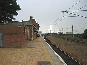 Dunbar railway station - Image: Dunbar 2
