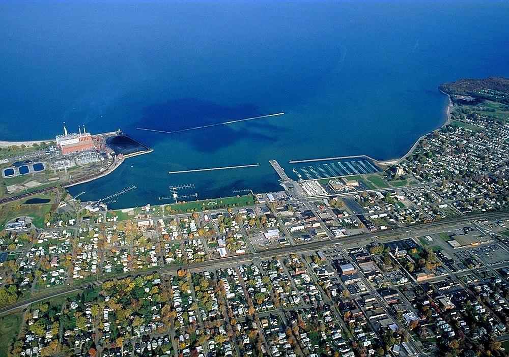 The population density of Dunkirk in New York is 2761.1 people per square kilometer (7138.07 / sq mi)
