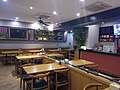 During the outbreak of COVID-19, a restaurant in Yuhuan, Zhejiang was empty as it resumed work.jpg