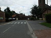 Dury (Pas-de-Calais) - Rue de la mairie.JPG