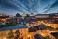 Dusk in Luxembourg Grund (28998138111).jpg