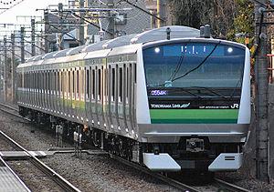 Yokohama Line - Image: E233 6000 H017 front