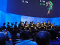 E3 2011 - Nintendo Media Event - the choir gathers to start the event (5811354290).jpg