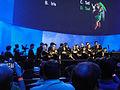 E3 2011 - Nintendo Media Event - the choir gathers to start the event (5811354290).jpg