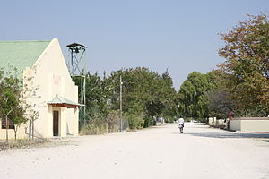 Ovambo people - A Lutheran church in Ongwediva.