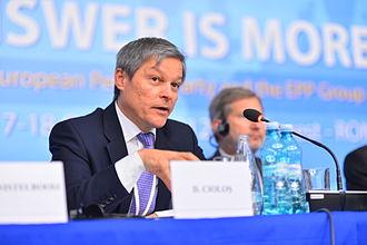 Dacian Cioloș - Cioloș at the October 2012 EPP Congress