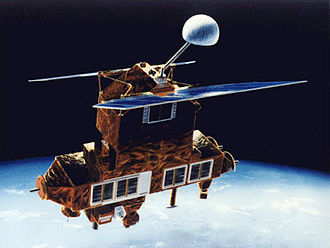 Earth Radiation Budget Satellite - The ERBS spacecraft
