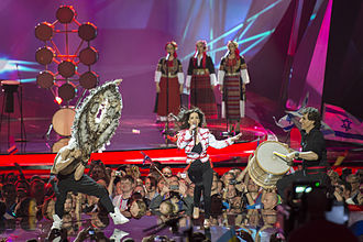 Bulgaria in the Eurovision Song Contest - Image: ESC2013 Bulgaria 08 (crop)